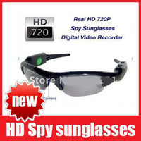4G No Camo, Black Digital Video Recorder Real HD 1280x720P(30fps) Camera 5.0 Mega Sunglasses DVR Eyewear Hidden Camera