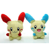 wholesale Pikachu anode and cathode rabbit couple pocket plu...