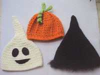 1pc optional crochet baby halloween' s hats kid' s c...