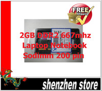 Wholesale 2GB DDR2 PC2 MHz Pin SODIMM Laptop Memory