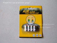 Wholesale Air alert tire valve cap as Tyre Pressure Monitoring Cap visible tire pressure detection keep u safe