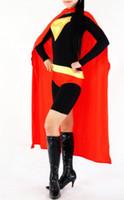 Zentai / Catsuit Costumes superman lycra - Latex Cloth lycra spandex zentai costume Superman customize cloting