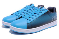Wholesale Bage Skateboard shoes Women s HCXB21640 Blue Color Chinese First Brand Of Skateboard