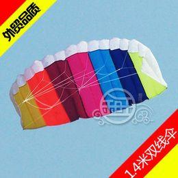 Free Shipping!!hot sale 1.4 m Stunt Parafoil POWER Sport Kite