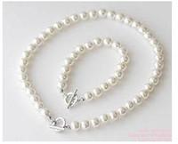 Wholesale New Hot Sale set U Pick Faux Pearl wedding Necklace amp Bracelet Set