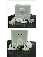 Wholesale Baby Safety hole and hole Outlet Covers Insulation socket protective cover