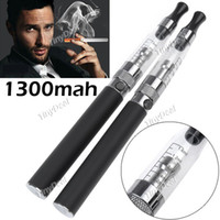 Cheap HOT SALE!!! Brand New Ego-TS Double Stem 1300mAh CE5 Healthy E-smoke + Portable Bag