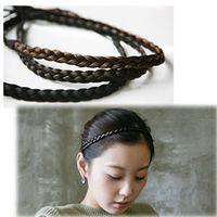 Wholesale 50pcs multi colored synthetic hair braided headbans hair band hair accessories headwear