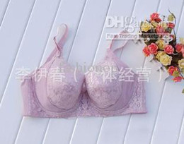 Wholesale Plus Size New Women s Bra Gathered Widening Flank Underwear Cotton Cup ABCDE Cup Women s Bra LYC1
