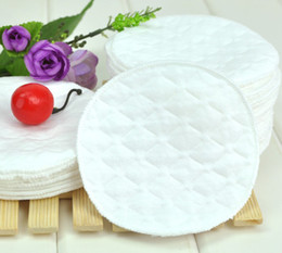 Wholesale 100pcs The single layer cotton soft and breathable pregnant mothers maternal washable nursing pads