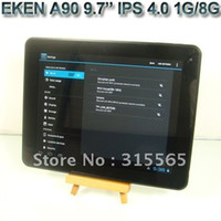 Wholesale Eken A90 quot Tablet PC Android IPS GHZ GB Dual camerae