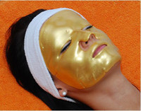 collagen mask - High Quality Fashion Gold Powder Collagen Crystal Facial Mask Anti Aging Gel Moisture Face Mask