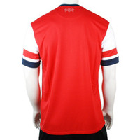 Wholesale Customized Thai Quality Hot Selling Season Red Blank Soccer Jerseys Football Jersey Shirts