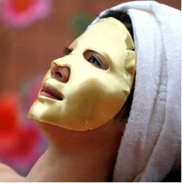 Wholesale High Quality Fashion Collagen Gel Face Mask contains Hylauronic Acid K Gold amp Hydrolyzed Silk