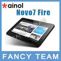 Wholesale In Stock Ainol NOVO Fire with Dual Core A9 GHz Bluetooth GB Tablet PC