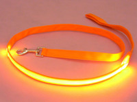 Wholesale Glow LED Flashing Dog Leash Pet Lead Rope Nylon Drawstring Belt Harness W cm L cm