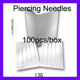 Wholesale Sterilized Body Piercing Needles Gauge box G Tattoo Supply New