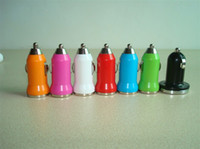 Wholesale 5pcs Mini Car Charger USB Adapter for iPod mp3 mp4 by CPAM