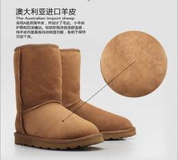 Wholesale Brand Australian Sheepskin Wool Sheep Skin Fur Snow boots winter boot warm boots color size US