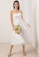 White Mini Fold Bridesmaid Dresses Wedding dresses Homecomin...