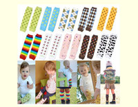 Wholesale 80Pcs Christmas Special Offers Baby Girls Sweet Leg Warmers knee sock warmers socks baby legging