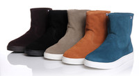 Wholesale New Fashion Korea Winter models Korean Thicken Warm Men Snow boots western Shoe size40