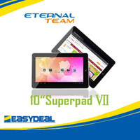 Wholesale 10 quot Flytouch Android GPS tablet pc Allwinner A10 GHz superpad HDMI Camera multi touch