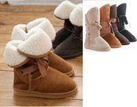 Wholesale Free ship All Size color New Fashion Women Girls Winter Warm Snow Boots Shoes
