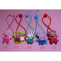 wholesale Peppa pig hairpin clip new 5 styles hair ornament ...