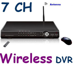 Factory sale : 7CH CCTV Network Surveillance Security Network Wireless DVR System Kit IR Camera