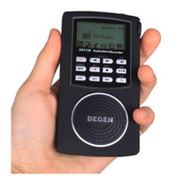 Wholesale DEGEN DE1126 Digital Stereo Radio DSP FM MW SW AM GB MP3 Player Recorder radio receiver GB