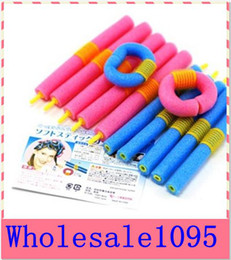 Wholesale SOFT ANION EPE BENDY HAIR ROLLERS FOAM CURLERS bendy rollers beauty hair product