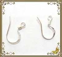 Wholesale X Sterling Silver Earring Fish Hooks DIY jewelry accessories ear hook A5