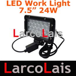 2pcs 24W LED WORK LIGHT 2900 lumen 10-30V OFFROAD ATV