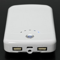Wholesale External Battery Charger Large MAH Mobile Power Bank for Ipad Ipod Camera GPS PSP Mobilephone