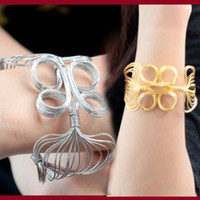 Wholesale Vintage Link chain Bracelets Wrap slap snap Bangles cheap Hot charms Gift women men fashion jewelry