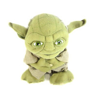 Wholesale Movie star war Master Yoda Mimion Master of wisdom Plush Toys Dolls Chirstmas Gifts