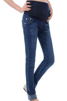 blue women jeans wear - 2016 New Fashion Maternity jeans Pregnant women Jeans Maternity Pants Maternity Wear