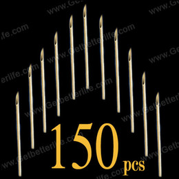 Wholesale 150 Sterile Assorted Size Body Piercing Needles Tattoo Piercing Needles Supply CK N0150