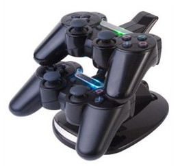 Wholesale 1pcsDual Charger PS3 wireless controllers silicone controller glove for PS3 free CPA