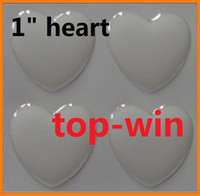 Wholesale 120pcs hearts sharp epoxy resin stickers clear epoxy dome quot length and width mm