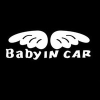 Whole Body baby chaps - 100PCS Chap Vinyl Baby in Car Funny Car Decals Stickers cm Car Window Stickers China