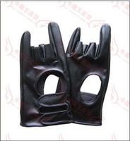 Wholesale New Arrival Popular Cool Style Star s Favorite Gloves Hip Hop Punk Music Men s Leather gloves
