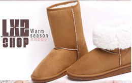 Wholesale Sexy Fabrics - wholesale NEWEST sexy comfortable womens snow boots Winter warm Boots cotton-padded shoes