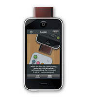 Wholesale 2012 new L5 universal Remote control for Iphone G GS phone Ipad tablet pc ipod