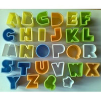 Plastic alphabet cake cutters - Alphabet Letter amp Star Cookie Biscuit Vegetable Cake Decorate Mold Cutter