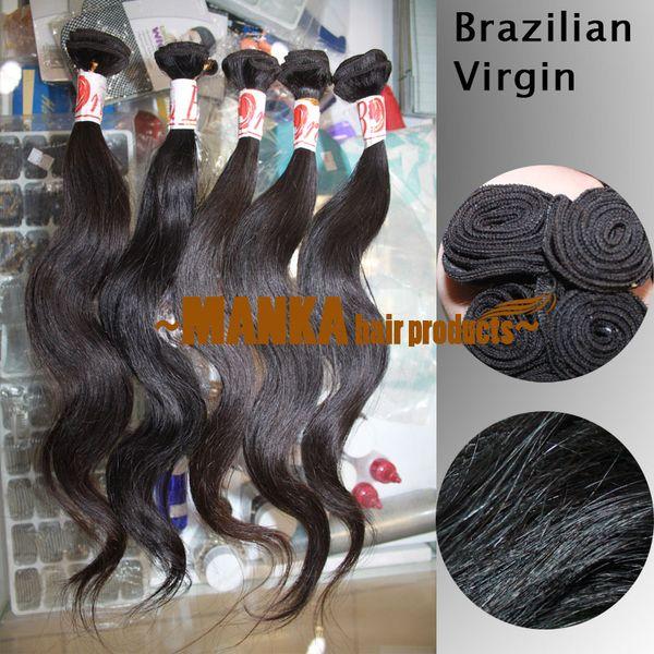 10 30inch unproce  ed human hair exten ion  brazilian malay ian peruvian indian virgin human hair exten ion  body wave bundle
