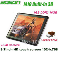 Wholesale Super Thin Light weight Aoson M19 Android G Tablet PC quot IPS Screen Capacitive RK2918 HDM
