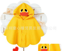 Wholesale baby dress baby cloak baby ourterwear coats girls cape sweaters outfits smock baby clothing pc