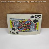 belt bucke - Belt buckle playing card belt bucke gamble belt buckle FP suitable for cm wideth belt